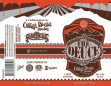 The Deuce label artwork by Oskar Blues/Sun King. Image found via BeerPulse.com