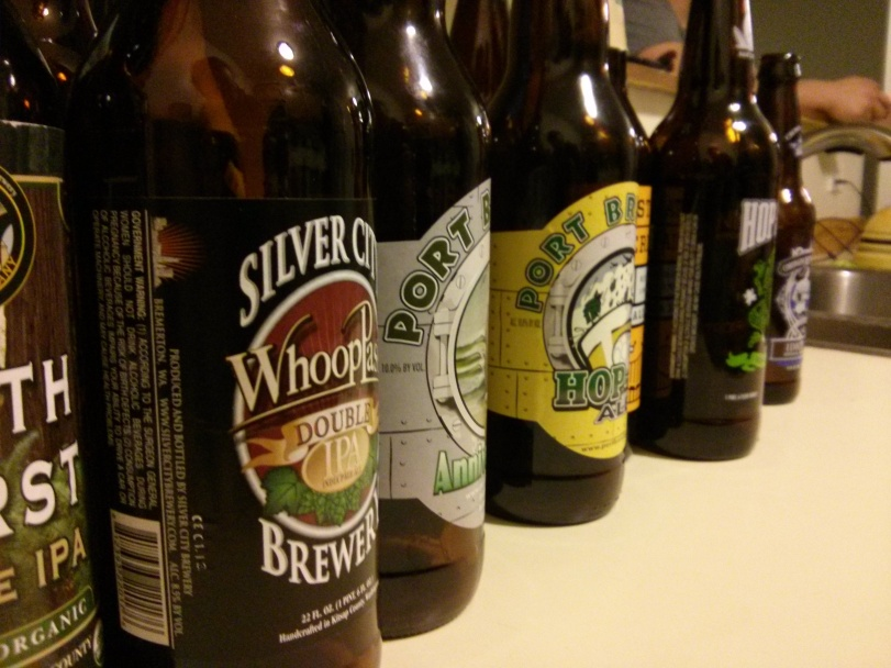 Blind Beer Tasting - Imperial/Double IPAs - Photo credit: Lindsey Scully
