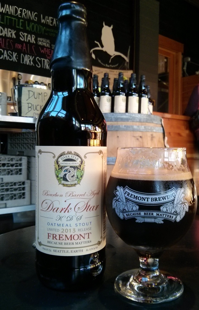 Fremont Brewing's Kentucky Dark Star - Photo credit: Lindsey Scully