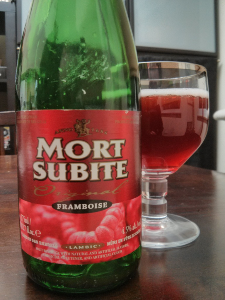 Beer Advent Day 10 – Mort Subite Framboise – Photo credit: Lindsey Scully