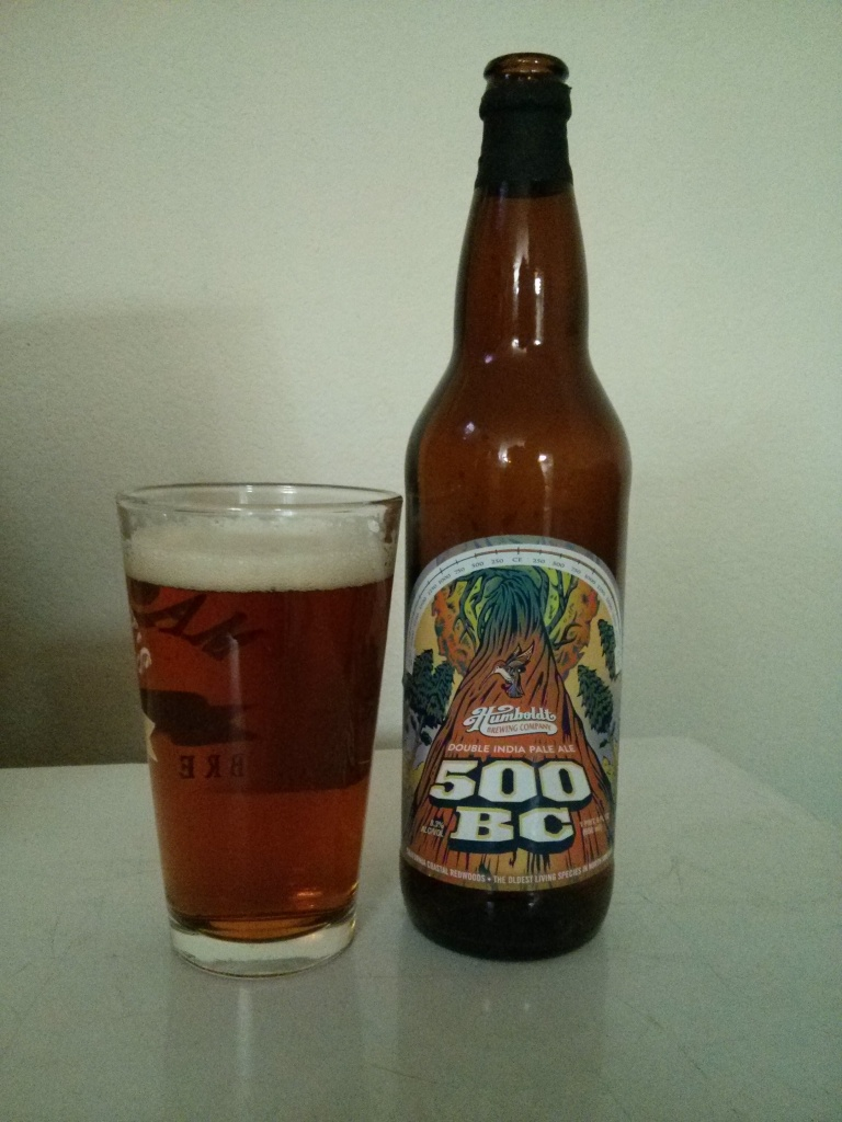 Beer Advent Day 4 - Humboldt Brewing's 500 B.C. – Photo credit: Lindsey Scully