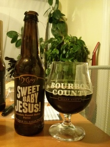 Beer Advent Day 5 – DuClaw Brewing's Sweet Baby Jesus!  – Photo credit: Lindsey Scully