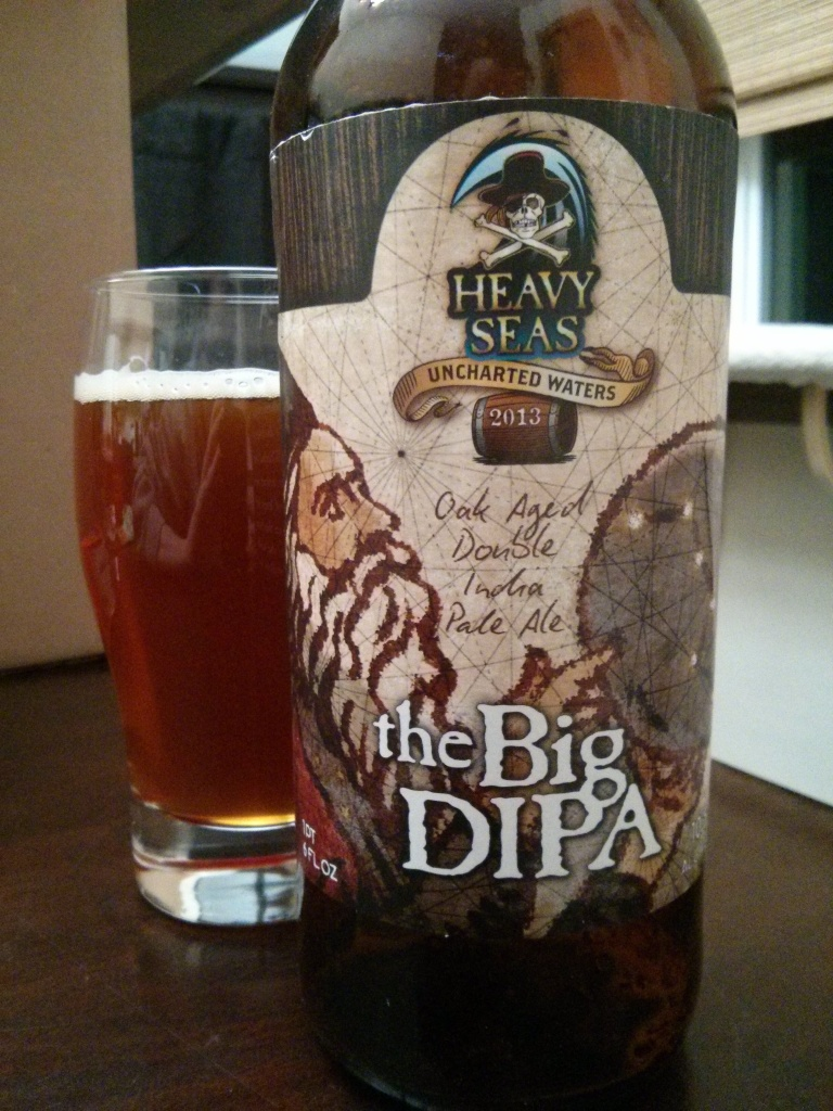 Beer Advent Day 9 – Heavy Seas' The Big DIPA – Photo credit: Lindsey Scully