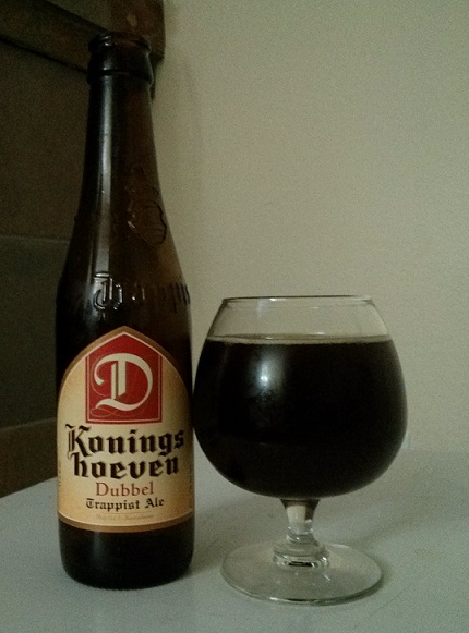 Beer Advent Day 1- Koningshoeven La Trappe Dubbel - Photo credit: Lindsey Scully